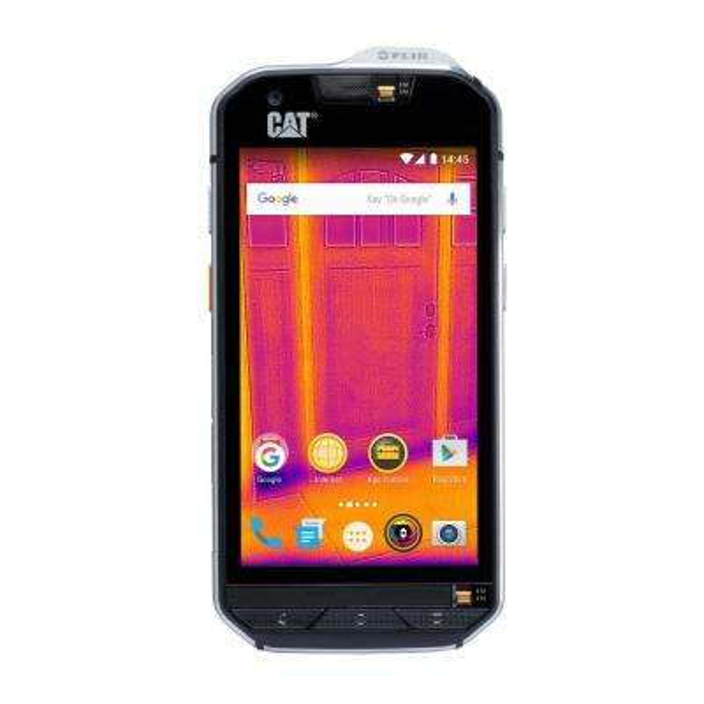 Rugged Waterproof Smartphone with Integrated FLIR Camera (Unlocked)