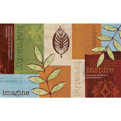 Poly Top 18 in. x 30 in. Recycled Door Mat