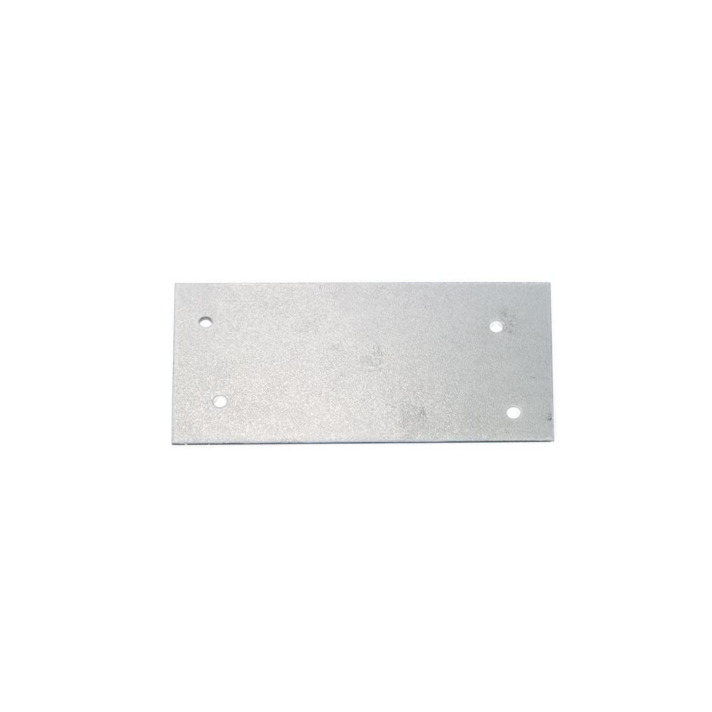 3 in. x 6 in. 12-Gauge 2 Holes FHA Nail Plate