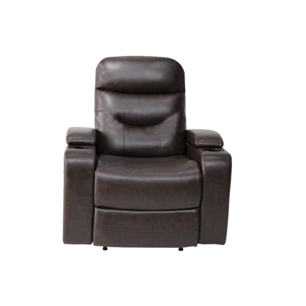 Outstanding Relax A Lounger Springfield Java Recliner Chair With Led Cup Unemploymentrelief Wooden Chair Designs For Living Room Unemploymentrelieforg