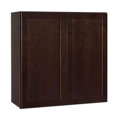 Shaker Assembled 30x30x12 In. Wall Kitchen Cabinet ...