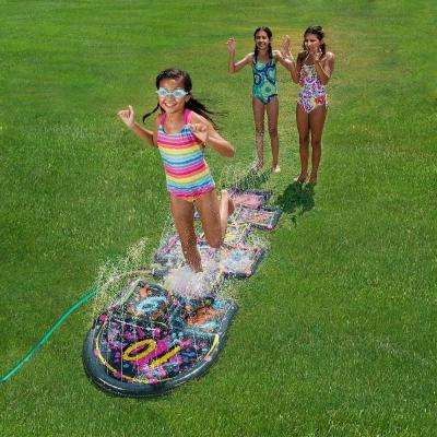 3D Action Hopscotch Sprinkler Mat