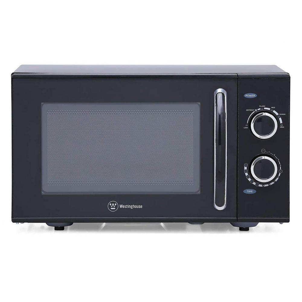0.9 cu. ft. Countertop Microwave in Black