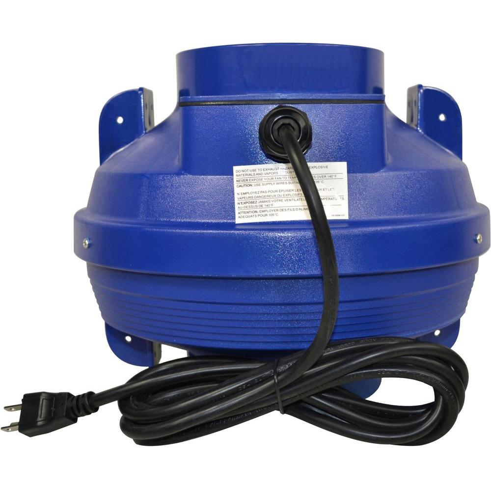 Suncourt 6 in. Centrifugal Tube Fan with Cord