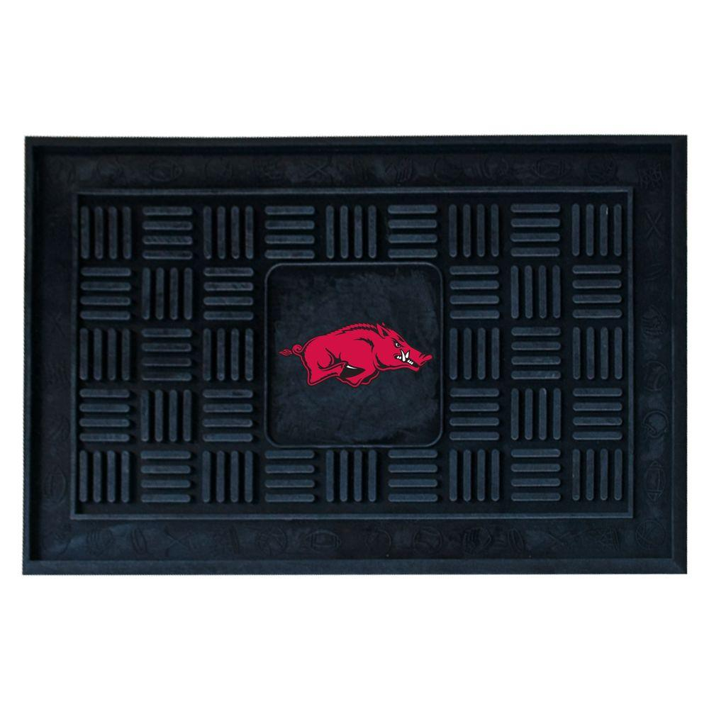 NCAA University of Arkansas Black 1 ft. 7 in. x 2