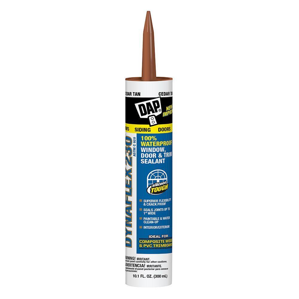 DAP Dynaflex 230 10.1 oz. Tan Premium Indoor/Outdoor Sealant (12-Pack)