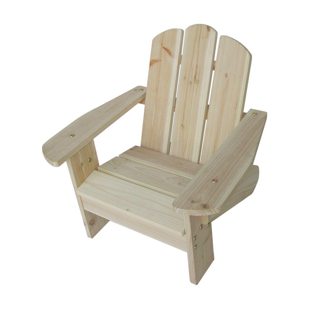 Very Lohasrus Kids Patio Adirondack Chair-MM20101 - The Home Depot FB84