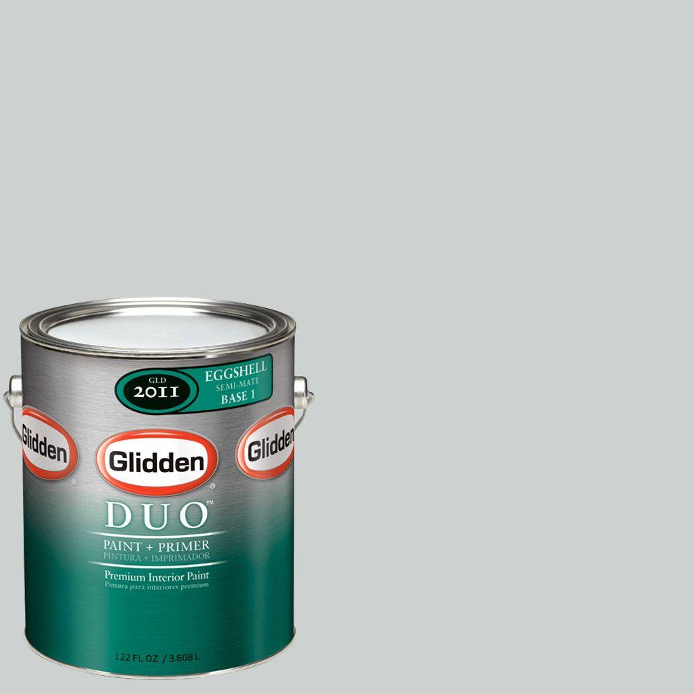 Glidden DUO Martha Stewart Living 1-gal. #MSL263-01E Dolphin Eggshell Interior Paint with Primer-DISCONTINUED