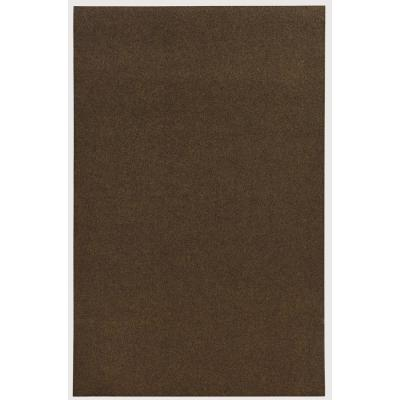 Grizzly Grass Brown Turf 6 ft. x 8 ft. Indoor/Outdoor Area Rug
