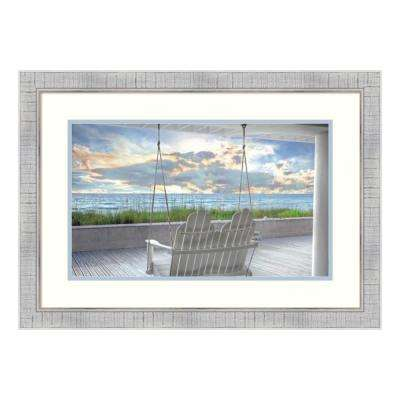 """""""Swing At The Beach"""" by Celebrate Life Gallery Framed Wall Art"""