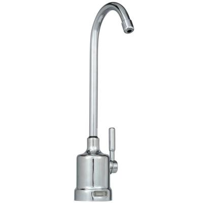 Single-Handle Water Dispenser Faucet with Air Gap and Monitor in Chrome for Reverse Osmosis System