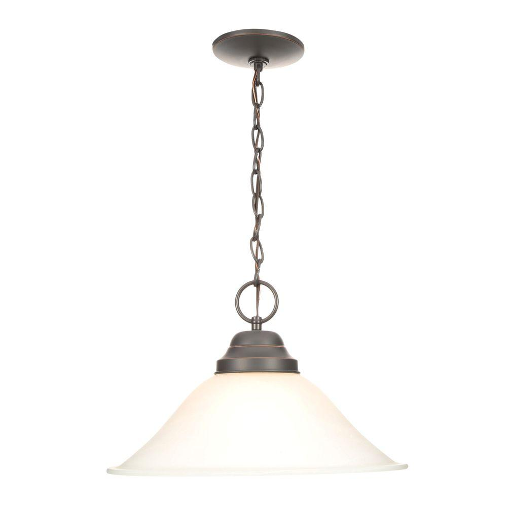 Millbridge 1-Light Oil Rubbed Bronze Pendant