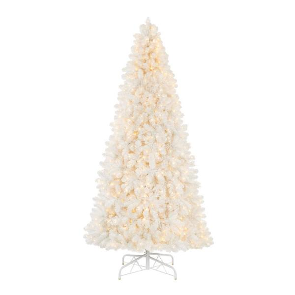 9 ft Uptown Noble Fir LED Pre-Lit Artificial Christmas Tree with 900 Color Changing Micro Dot Lights with 8 Functions