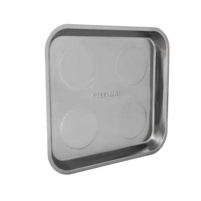 11 in. Large Magnetic Square Parts Tray