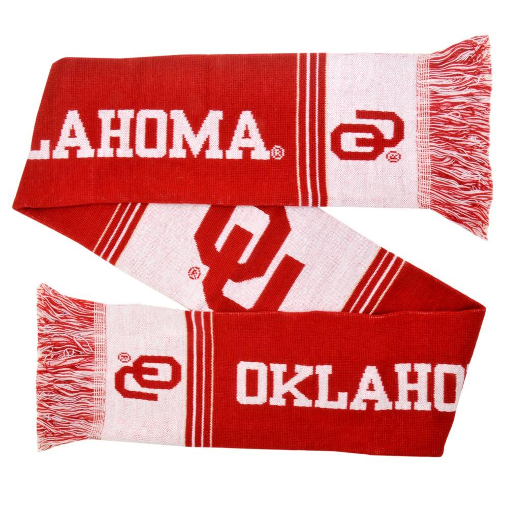 Forever Collectibles NCAA Licensed Oklahoma Team Scarf-DISCONTINUED