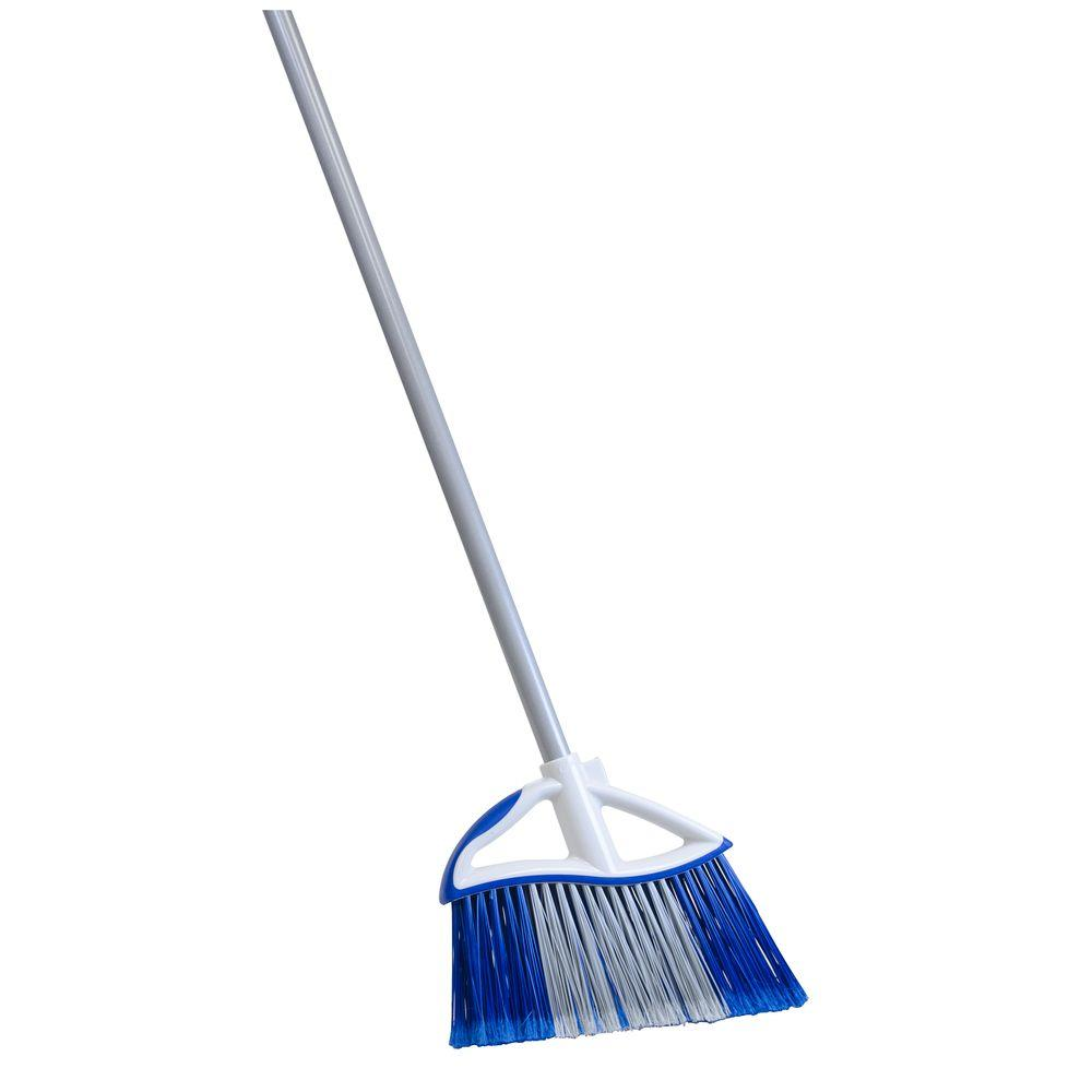 Quickie Dual Action Angle Broom-727501 - The Home Depot