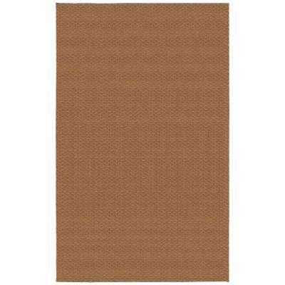 Medallion Pecan 9 ft. x 12 ft. Area Rug