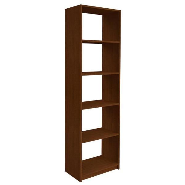 84 in. H x 24 in. W Cognac Cherry Shelving Tower Kit