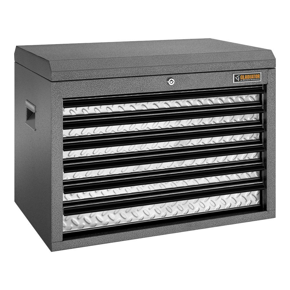 Premier Series 26 in. W 6-Drawer Top Tool Chest
