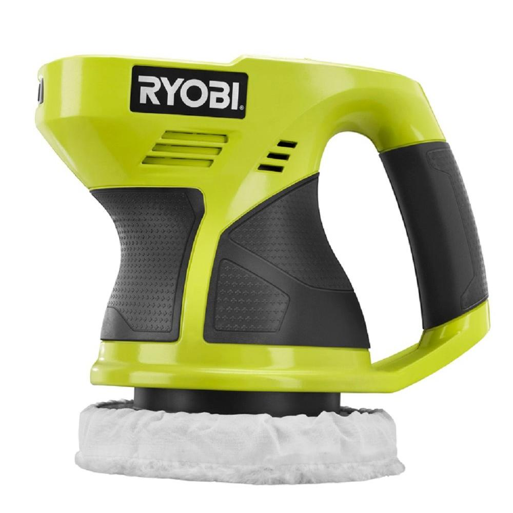 RYOBI 18-Volt ONE+ Cordless 6 in  Buffer (Tool-Only)-P430G - The