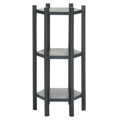 Leonie Charcoal Gray End Table
