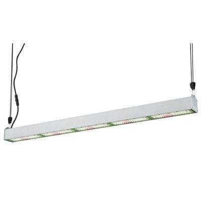 SunStream 250 4-1/2 ft. 250-Watt Broad Spectrum LED Steel Grow Light Fixture Cool White