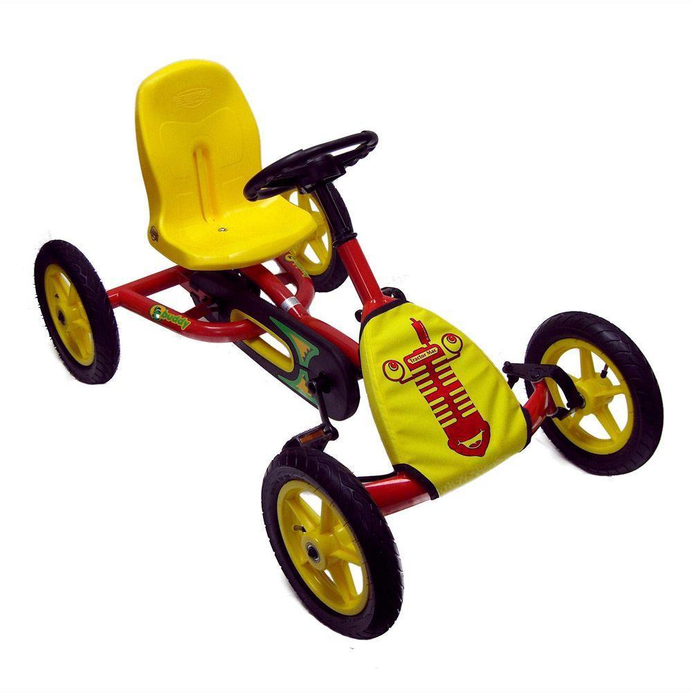 BERG Tractor Mac Red Children's Pedal Go-Kart