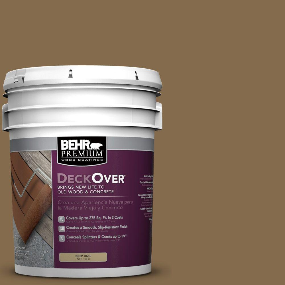 BEHR Premium DeckOver 5 gal. #SC-147 Castle Gray Wood and Concrete Coating