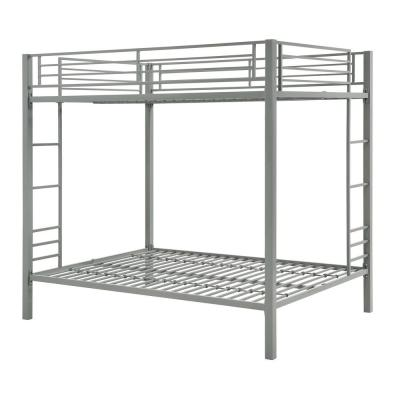 Corey Silver Full Over Full Metal Bunk Bed