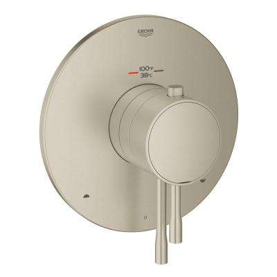 Essence Single-Handle Dual Function Thermostatic Valve Trim Kit in Brushed Nickel InfinityFinish (Valve Not Included)