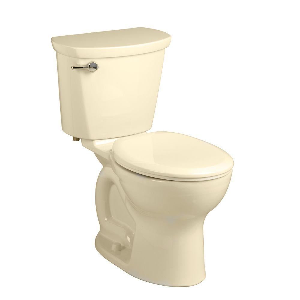 Cadet Pro 2-Piece 1.28 GPF Single Flush Round Toilet in Bone