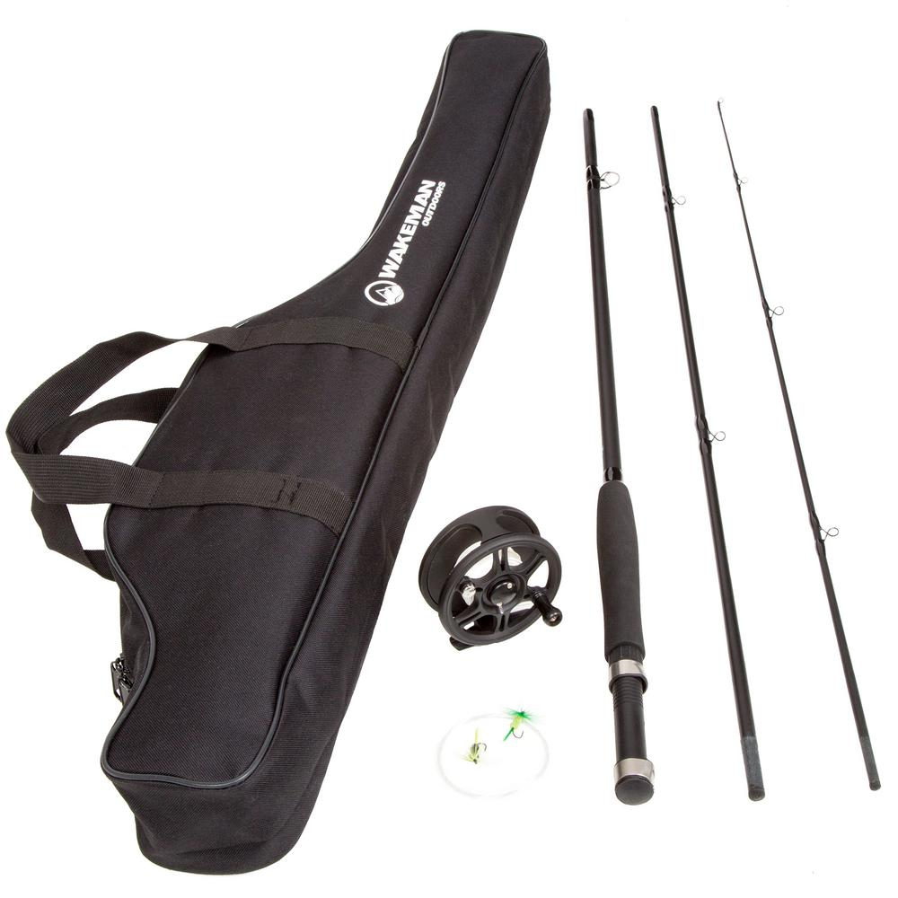 Trademark Global 8 ft. Fly Fishing Combo with Carry Bag