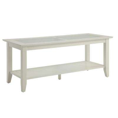 Carmel White Coffee Table