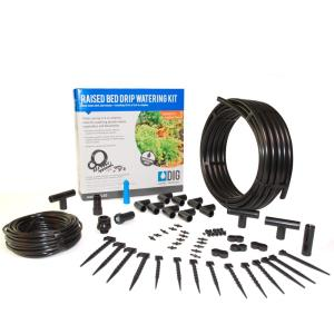 Dig Raised Bed Garden Drip Irrigation Kit Ml50 The Home
