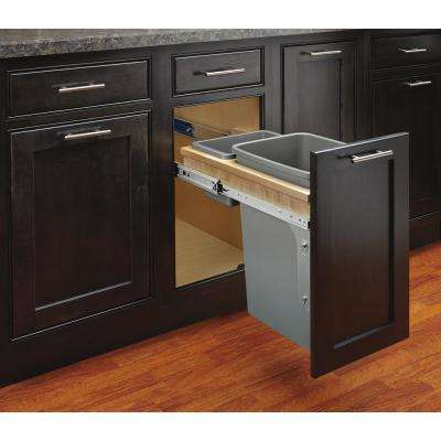 35 Qt.. Top Mount Waste Container