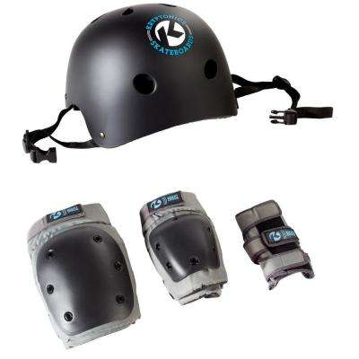 4-in-1 Adult Pad Set with Helmet