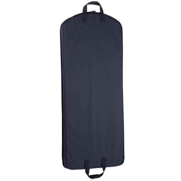 WallyBags 52 in. Navy Dress Length Carry-On Garment Bag 757 NVY