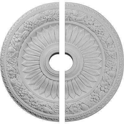 23-5/8 in. O.D. x 3-5/8 in. I.D. x 1-1/8 in. P Bellona Ceiling Medallion (2-Piece)