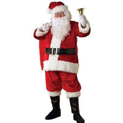 Adult XXL Regency Plush Santa Suit