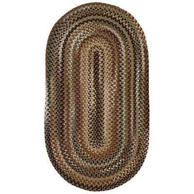 Bangor Sage Green 4 ft. x 6 ft. Oval Area Rug