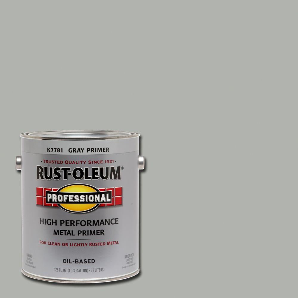 Rust-Oleum Professional 1 gal. Gray Flat Rust Preventive Primer (Case of 2)