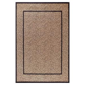 Concord Global Trading Jewel Leopard Beige 2 ft. 7 inch x 4 ft. Accent Rug by Concord Global Trading