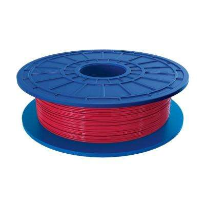 1.1 lbs. Red PLA Filament for 3D Idea Builder Printer