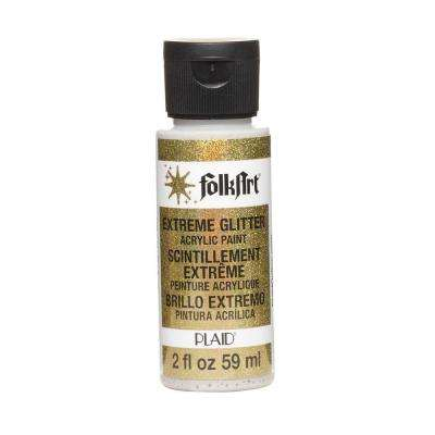 2 oz. Gold Extreme Glitter Craft Paint
