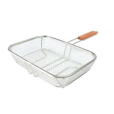 Stainless Wire Mesh Grilling Basket