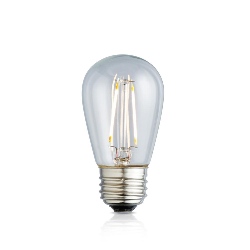 11W Equivalent Warm White S14 Clear Lens Nostalgic LED Light Bulb