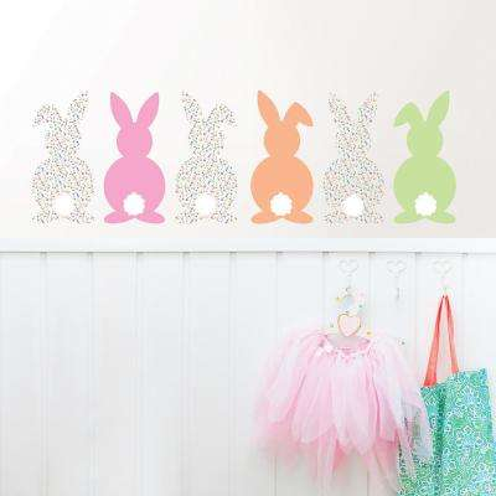 Bunch of Bunnies Wall Art Kit