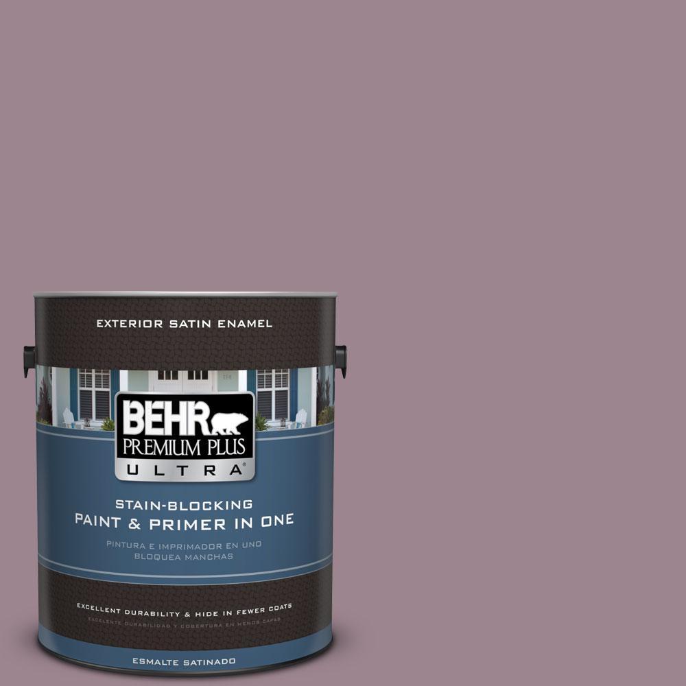 BEHR Premium Plus Ultra 1-gal. #PPU17-14 Dream Sunset Satin Enamel Exterior Paint