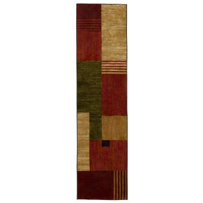 Alliance Multi 2 ft. x 5 ft. Indoor Runner Rug