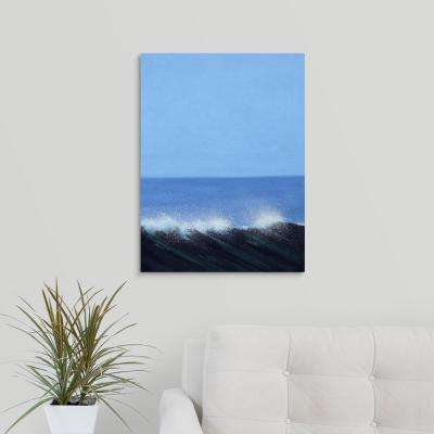 """""""Sea Picture IV, 2008"""" by Alan Byrne Canvas Wall Art"""